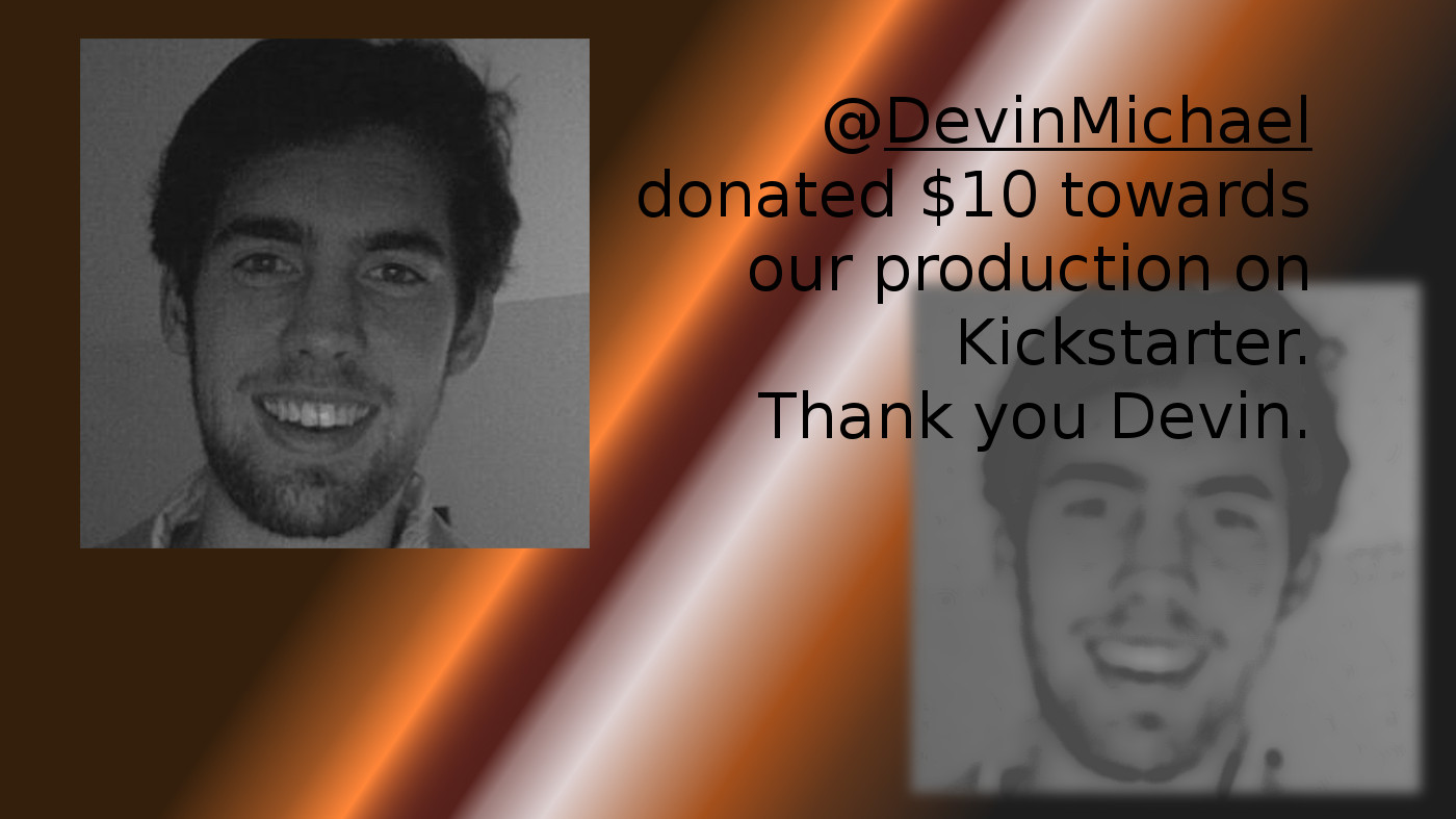 Devin terSteeg posted $10 to Kickstarter